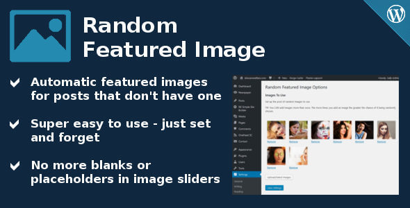 Random Featured Image for WordPress